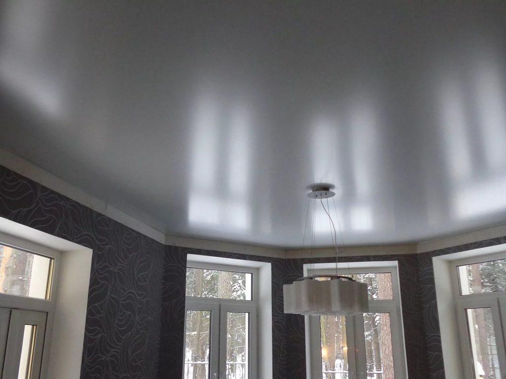 металлик натяжные потолки 3