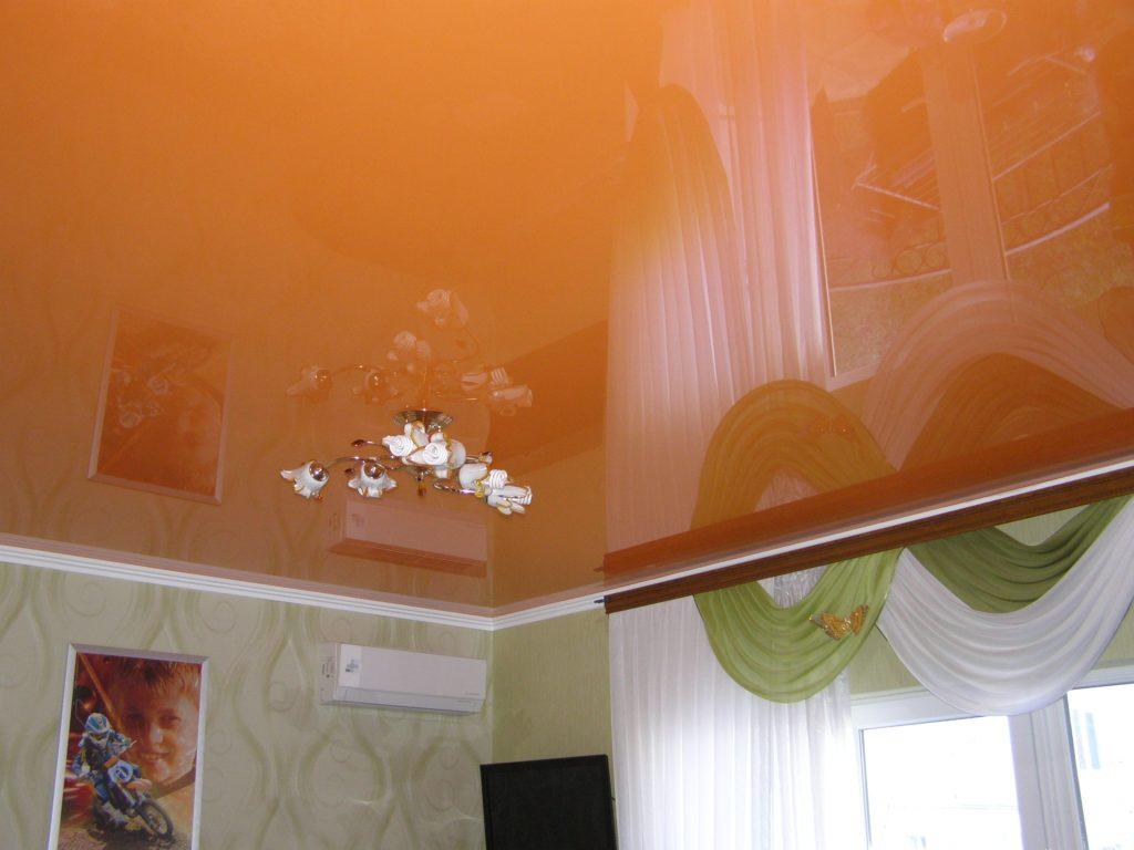 Бесшовные натяжные потолки 3