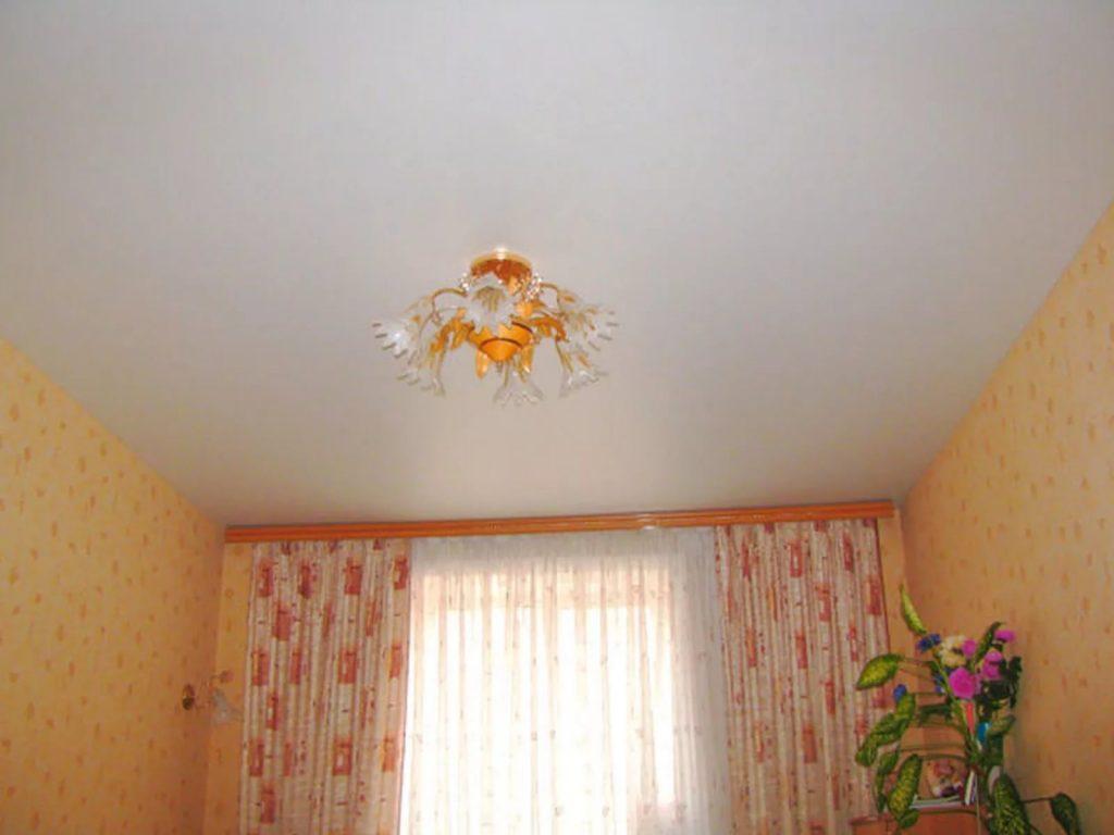 Сатиновые натяжные потолки 5