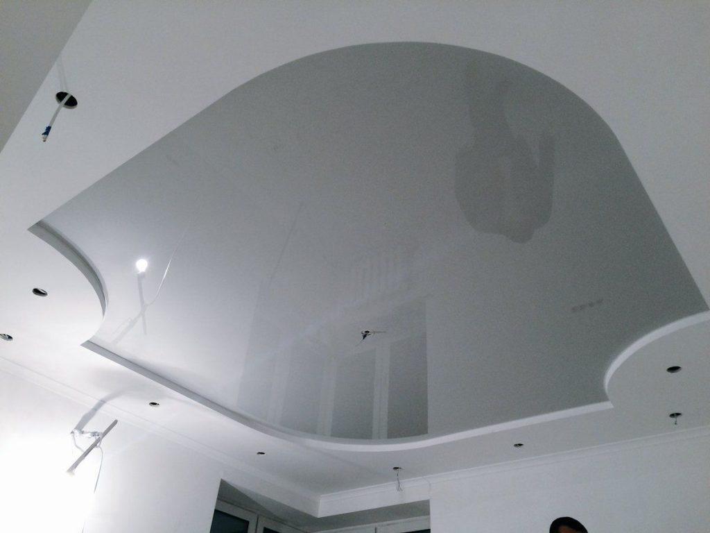 металлик натяжные потолки 5