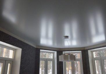 Металлик натяжные потолки