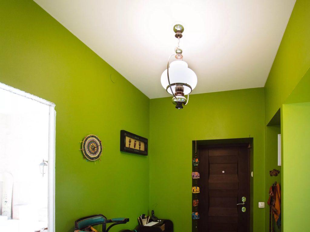положила одну матовые натяжные потолки в коридоре фото женское полиэстера